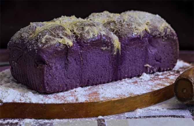 Ube Queso Loaf
